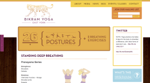 BYEY's posture benefit page