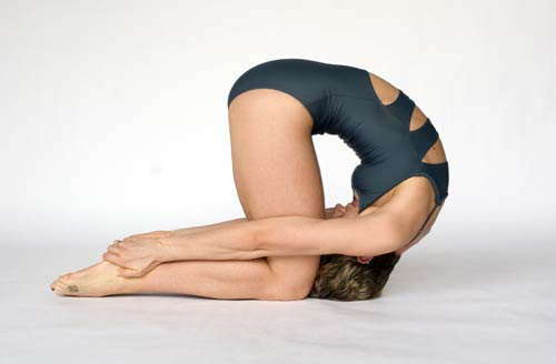 Rabbit Pose Photo Bikram Yoga San Antonio
