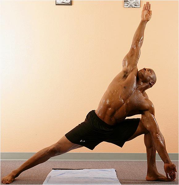 Posture Clinic  triangle pose  c592a9b993247